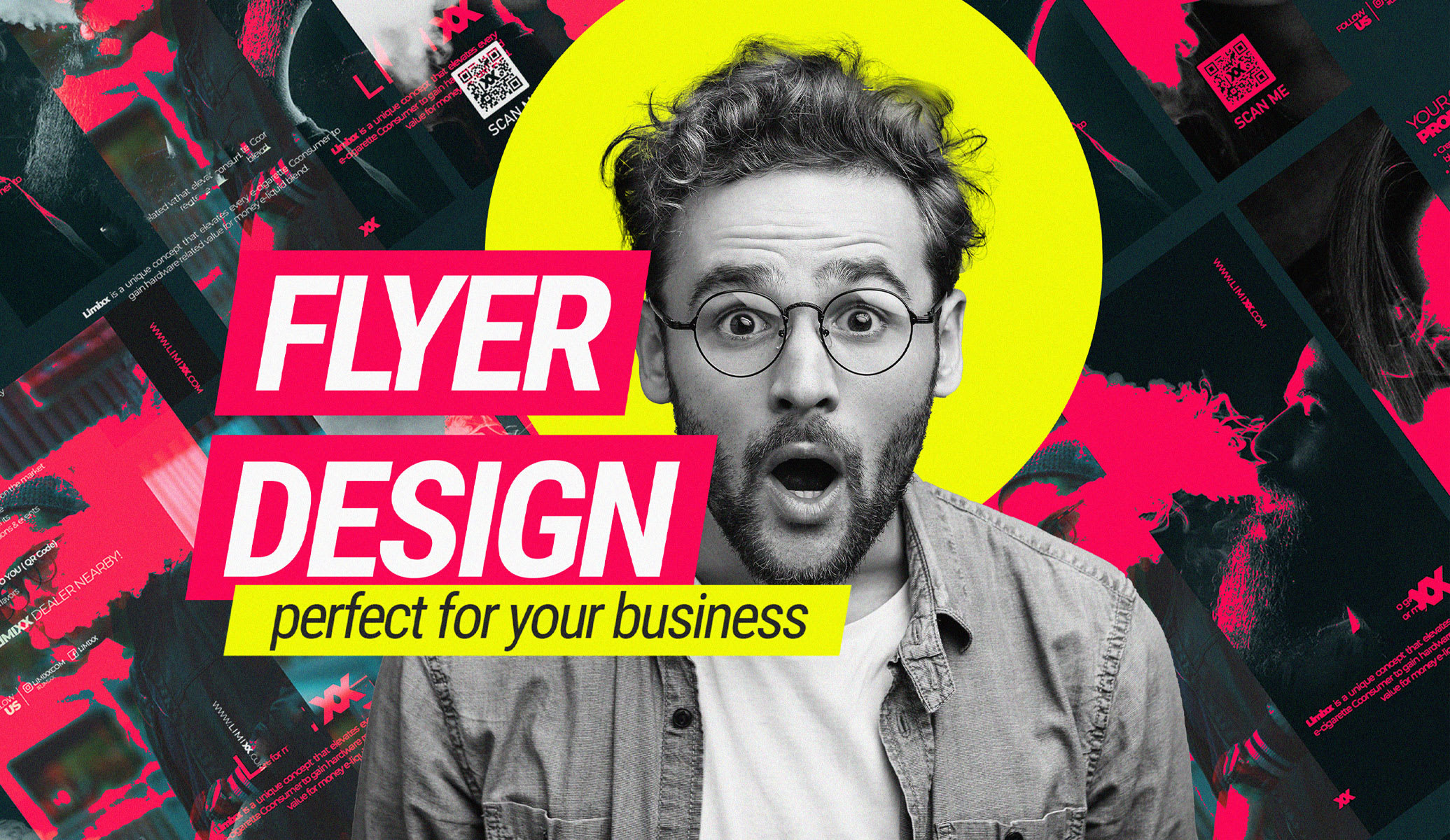 I will design a professional flyer for your business in 12 hours