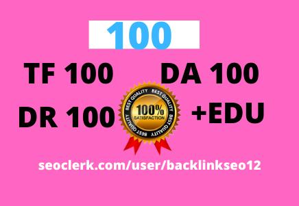 I WILL MANUALLY Do 100 UNIQUE PR10 SEO BackIinks on DA100 sites Plus Edu Links