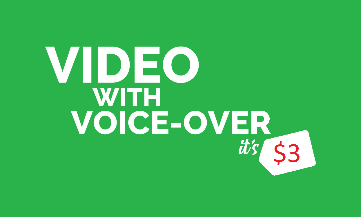 convert blog post,  article or text to video with voice over