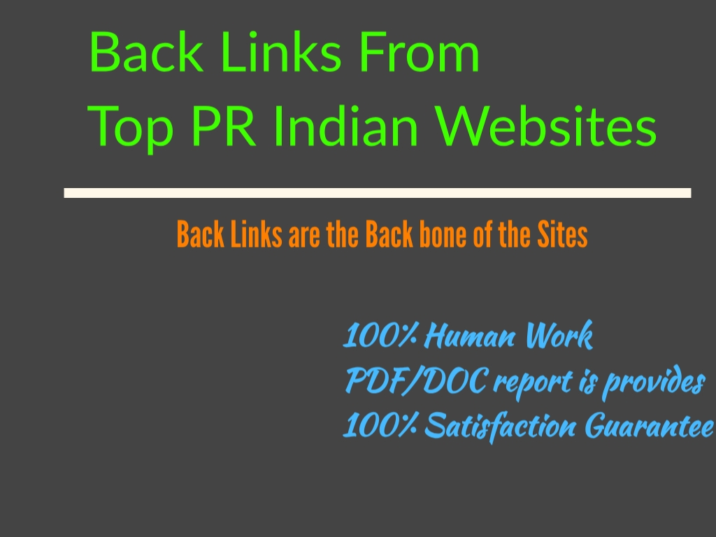 Do 100 High PR web directories submissions to your Site/Blog