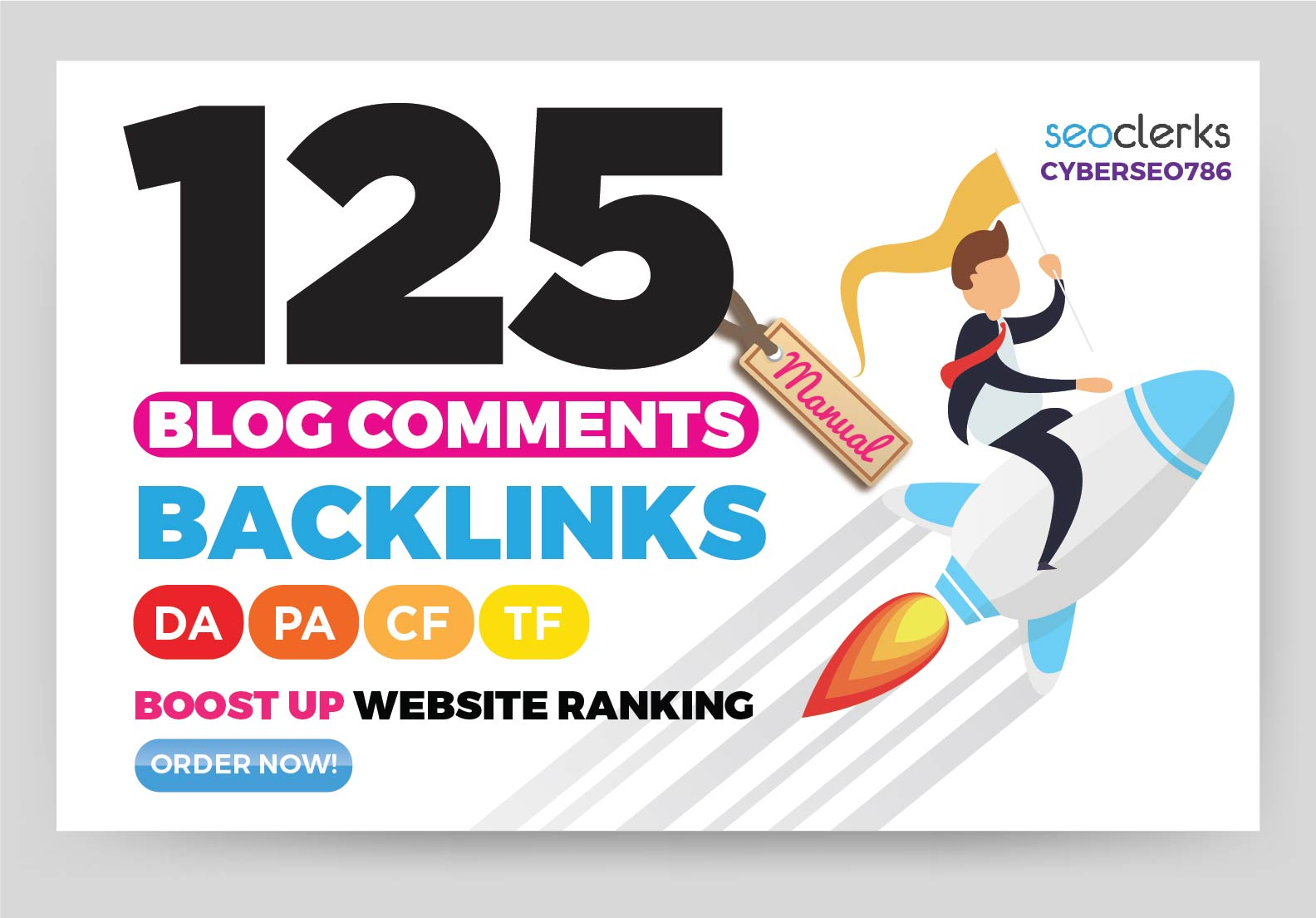 125 high quality blog comment seo dofollow manual backlinks low OBL