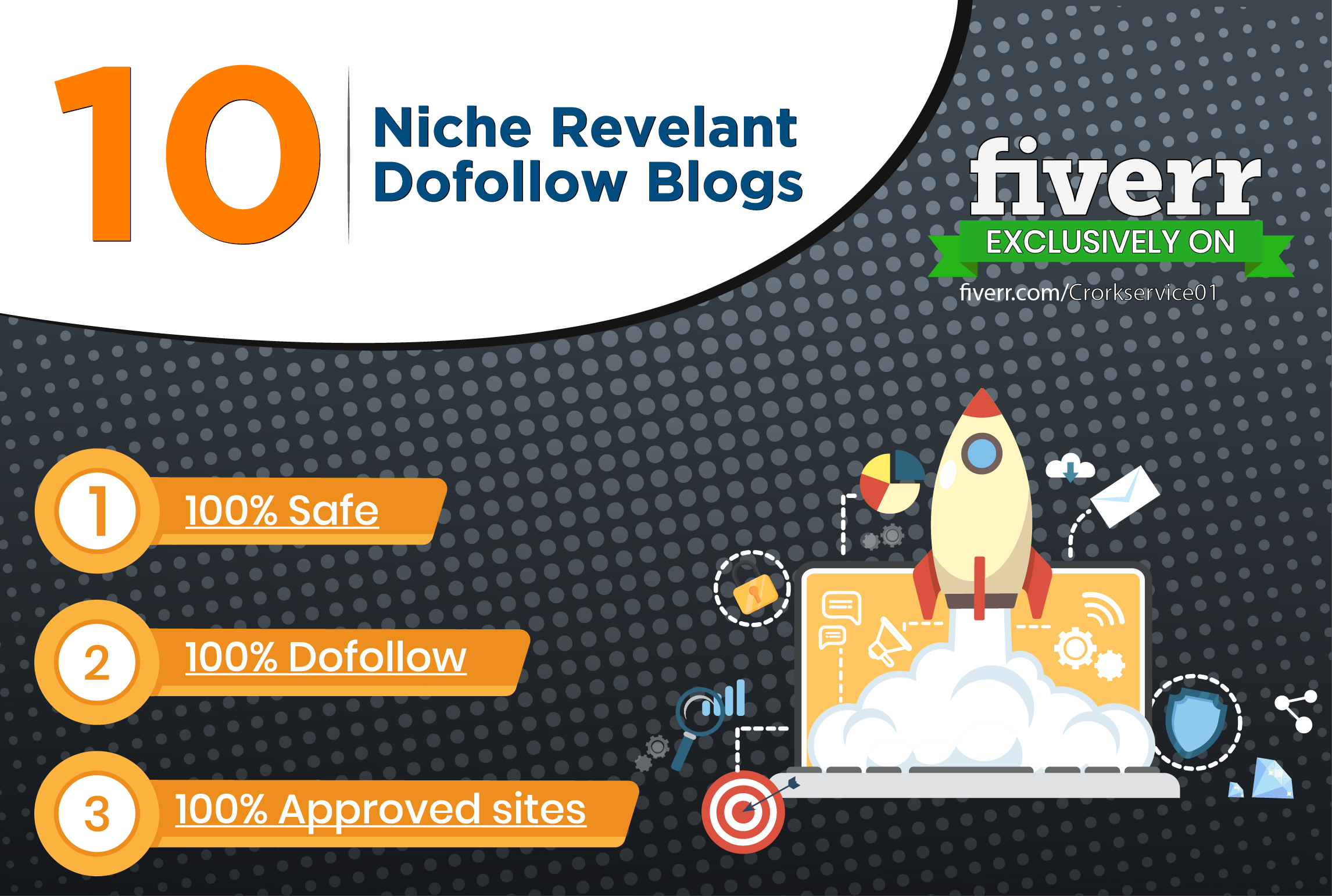 Do manually 10 dofollow high quality niche relevant blog comment backlinks