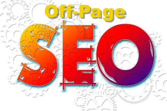 monthly off page seo service google rankig your website