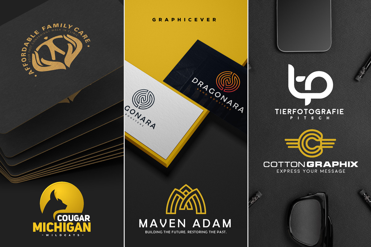 I will design a modern and minimalist business logo and branding