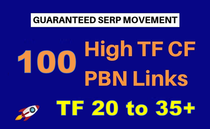 100 Permanent Trust Flow PBN links TF 20 to 35