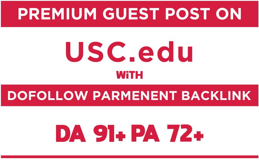 Guest Post on USC Edu blog Da 91