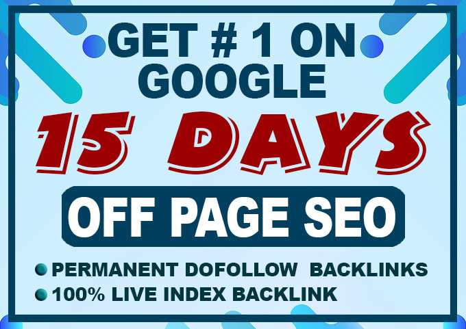 I will do High Authority exclusive backlinks rank on google 1st page