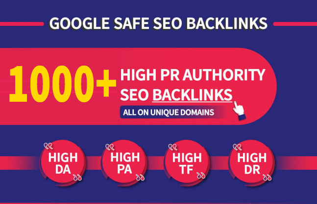 I Will Provided Google Ranking With Monthly SEO Services Total 1000+ High DA Backlinks