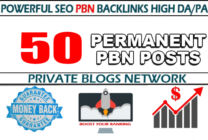 50 Web 2.0 PBN DA 35+ PA 35+ SEO Backlinks in Unique 50 website Link