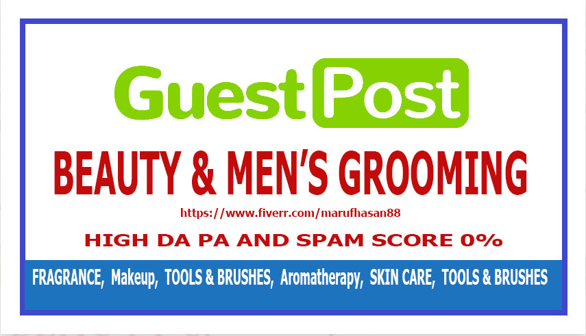 publish a guest post on hair and beauty blog