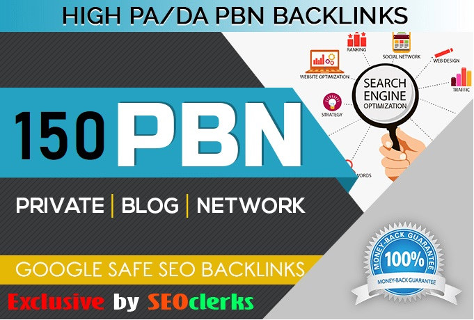 Get 150 HIGH TRUST FLOW HOMEPAGE Web 2.0 PBN DO-FOLLOW BACK LINKS DA 50+ PA 40+ 500+ Words Article