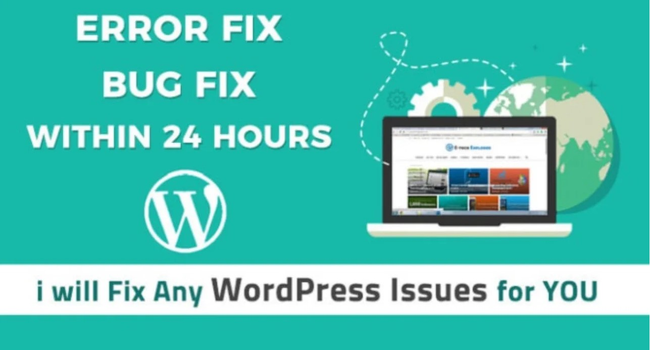 I will fix your wordpress issue within 24 hours