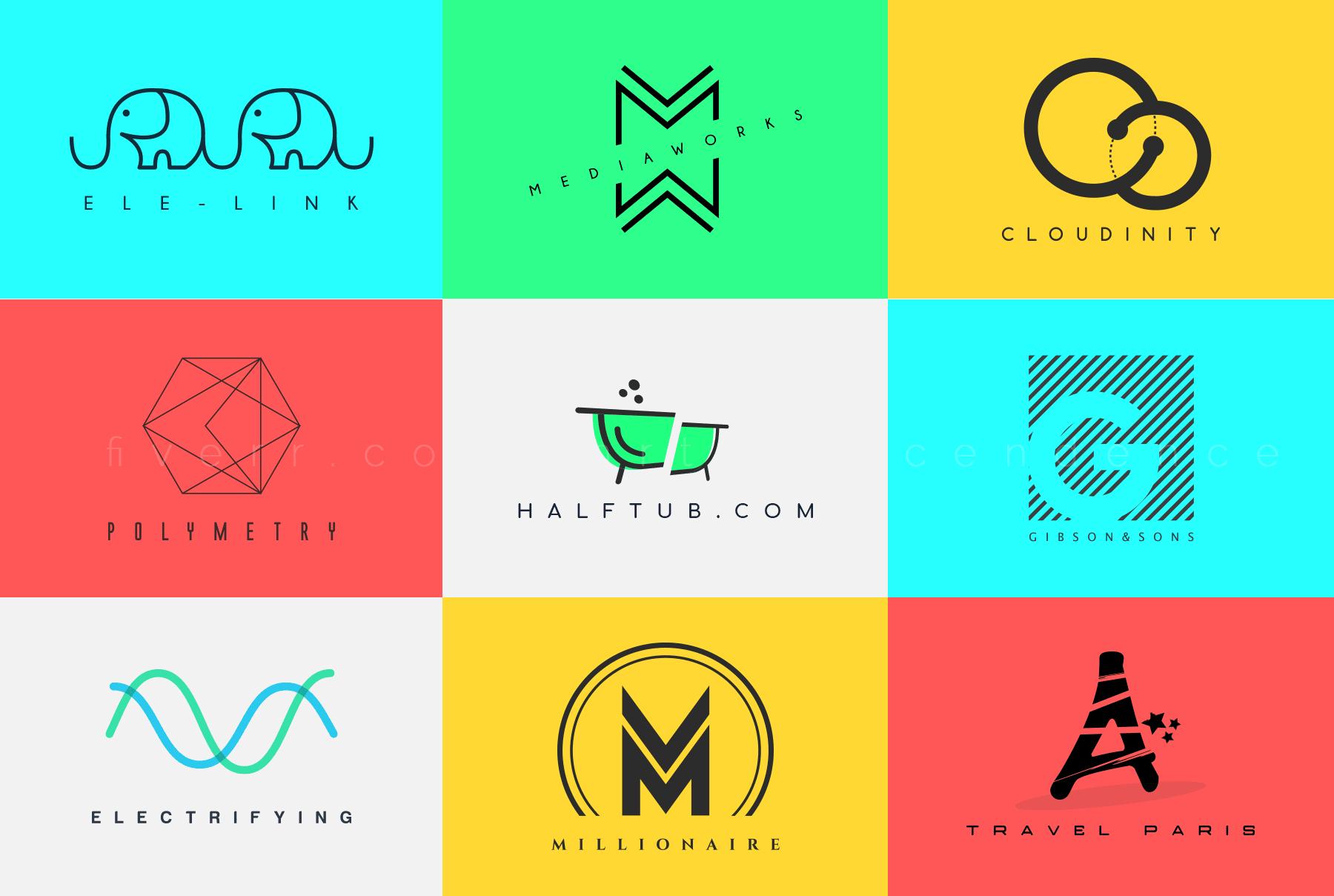 Premium Minimalist Business Logo Design Service