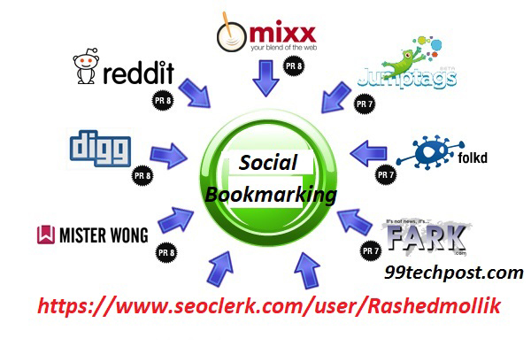 Do 30 Social Bookmakrs From High DA Bookmarks Sites