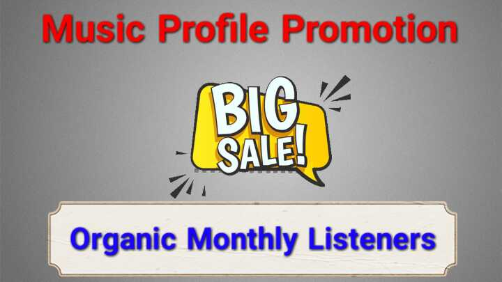 Get USA HQ Monthly Listeners For Organic Music Promotion