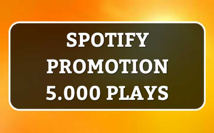 Get-5,000 Real HQ Organic Music Track Promotion