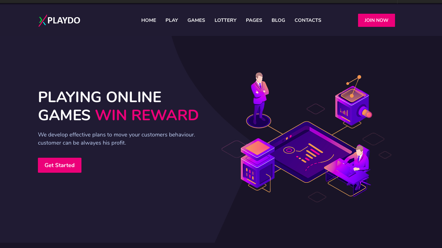 Build Cryptocurrency Online Gaming Website HTML with games and lottery