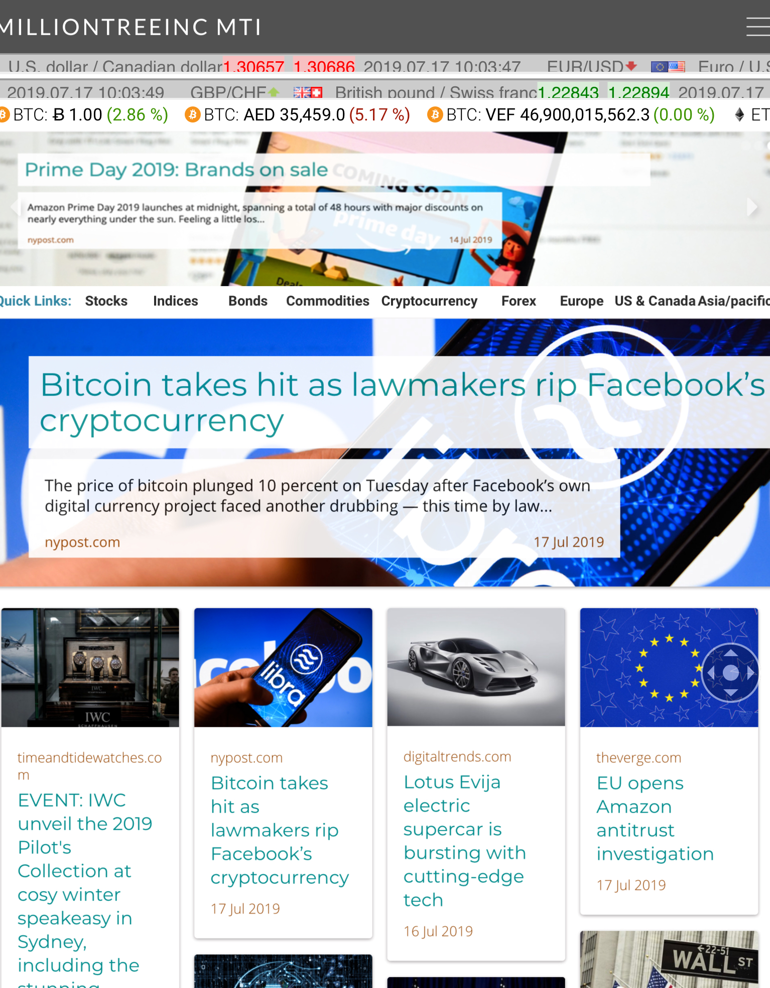 Promote And Advertise Banner On Popular News Site With Thousands Monthly Viewers