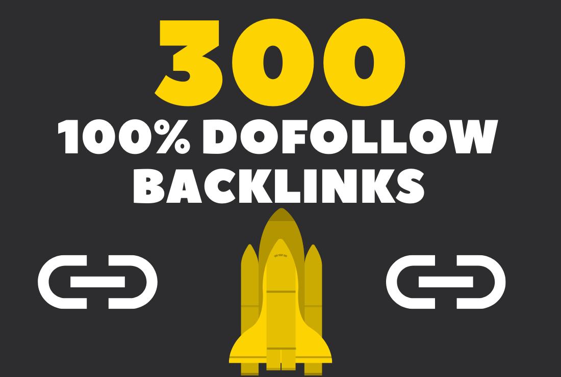 300 high quality contextual SEO Link Building dofollow backlinks