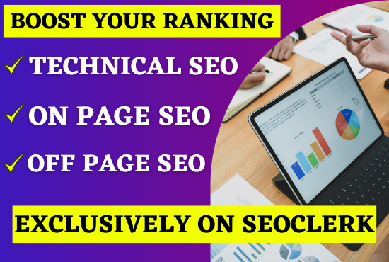 I Will Rank your website 1st Page On Google with Complete Monthly SEO Service