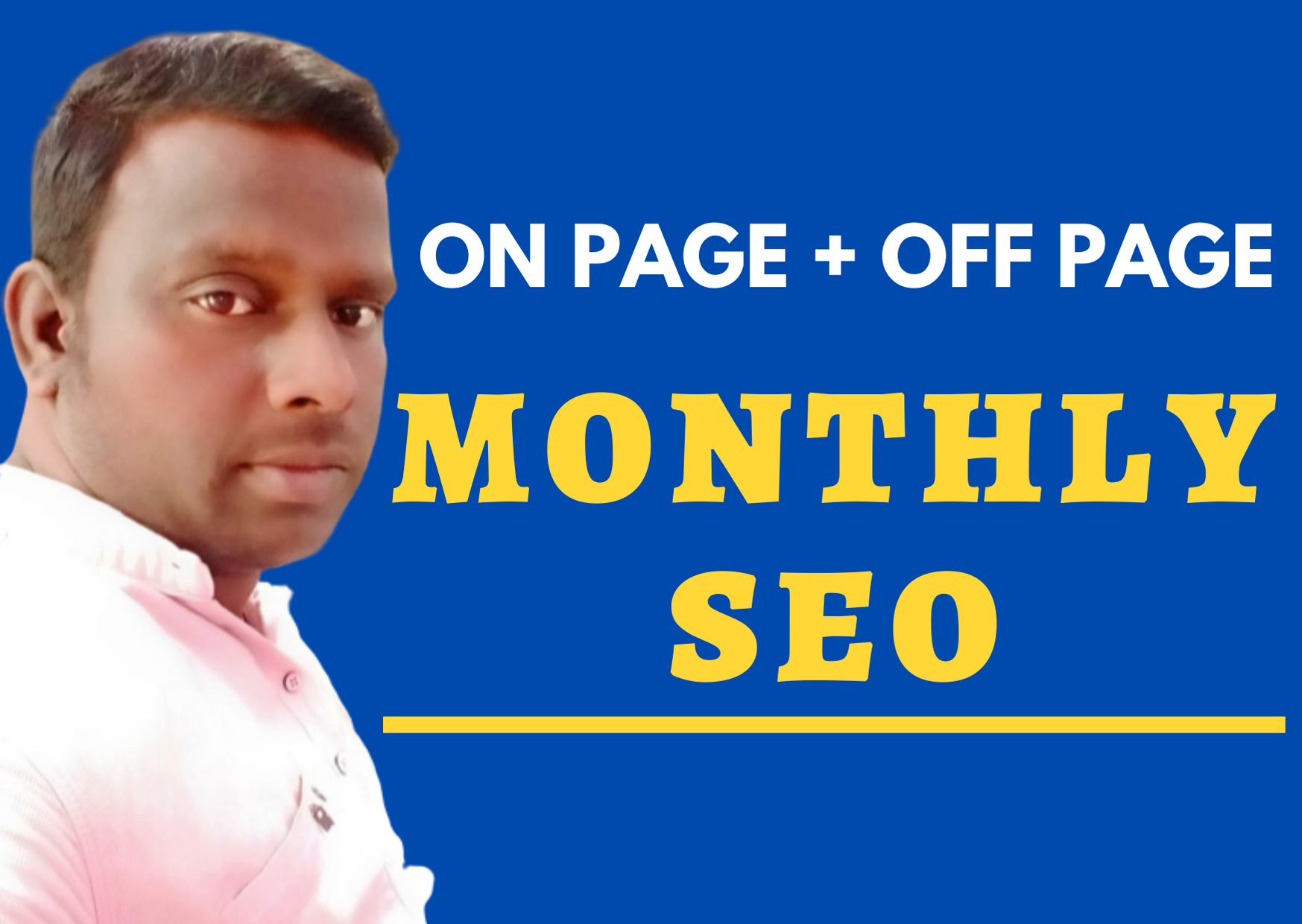 2020- monthly seo service with on page and off page seo