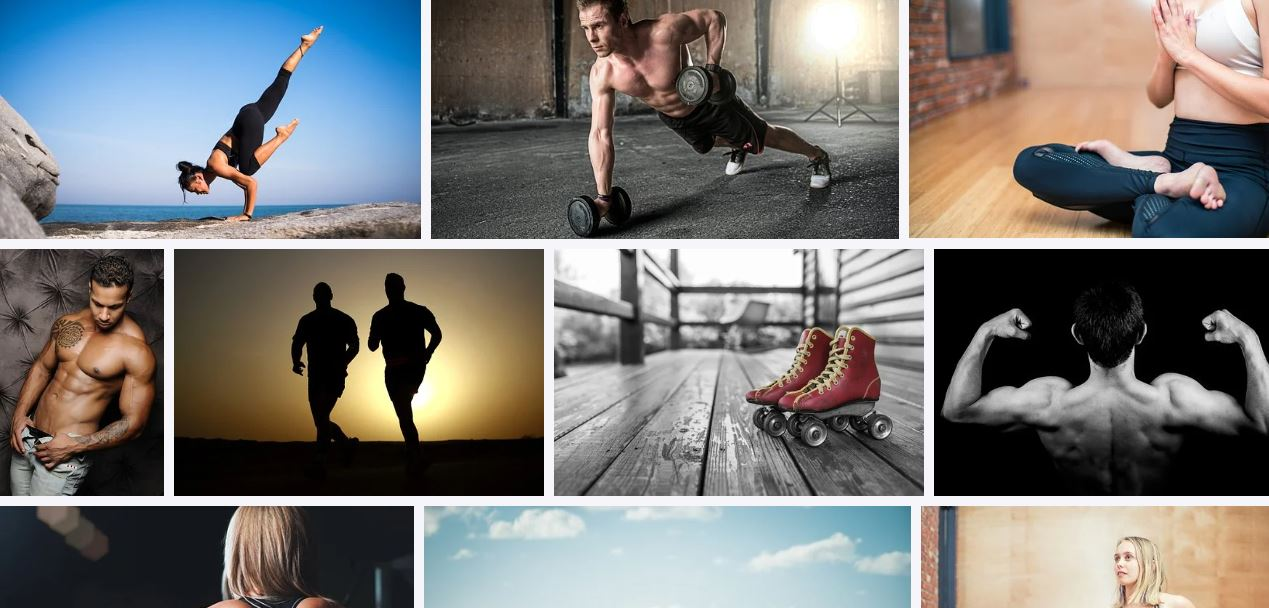 3000 HD Fitness Images For your Fb,  IG or web