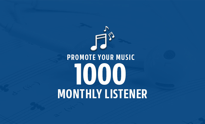 Exclusively 1000+ Monthly Listeners Promotion For Artist Profile