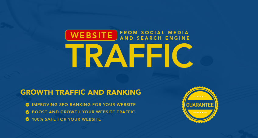 Drive Everyday 300-500 Traffic for 15 days To Increase Your Website Google Rankings