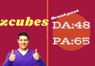 Publish Guest Post On zcubes. Com Do-Follow Backlinks DA 48 & PA 65