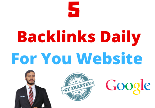5 Backlinks Daily HIGH PR9 Domaine Authority 70+ Very High indexer with 1000 Unique Article 30 Day
