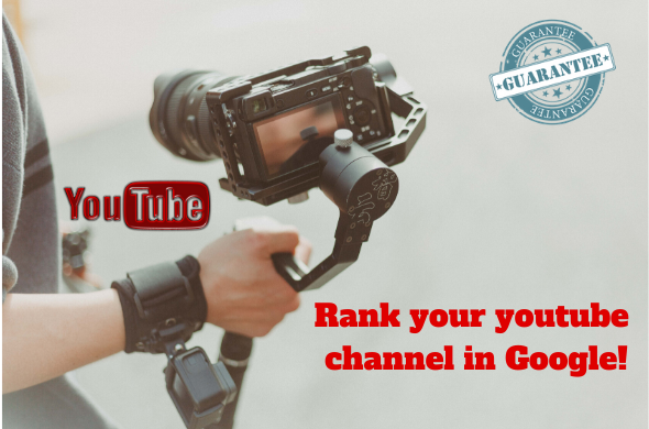 Boost your youtube Video in google with High DA Backlinks