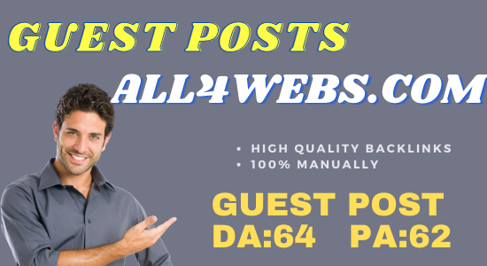 Guest Post On all4webs. com Do-Follow and Permanent Backlinks