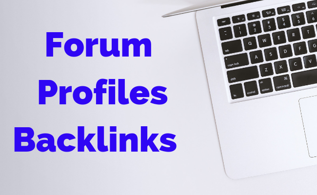 1000 Forum Profile Backlinks Very High Rate Indexer