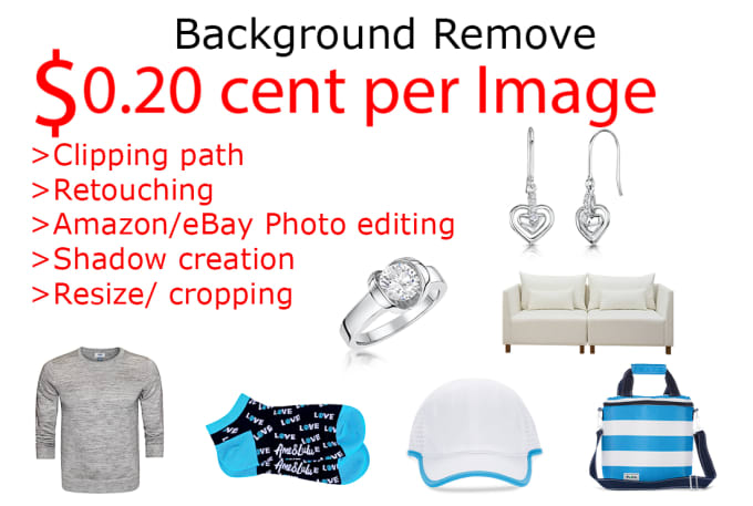 I will do 25 images background remove by clipping path within 12 hr