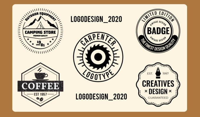 I will do creative unique versatile vintage redesign business logo design