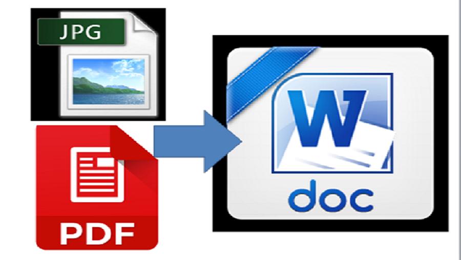 I typed 10 PDF/JPEG File to Doc Word File 100 Accuracy