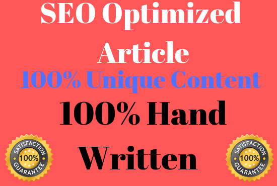 2 x 1000 Words SEO optimised well researched article For You