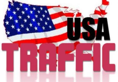 Drive 1000 ONLY U.S Traffic - Keyword targeted traffic
