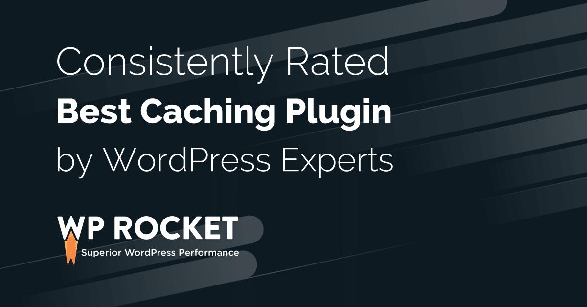 Provide you WP-Rocket plugin - Make WordPress Load Fast in a Few Clicks