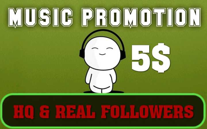 Get HQ Music Follows for your Artis Profile