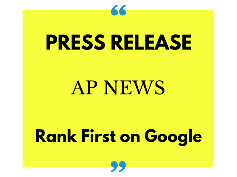 I will write and publish on AP News for press release