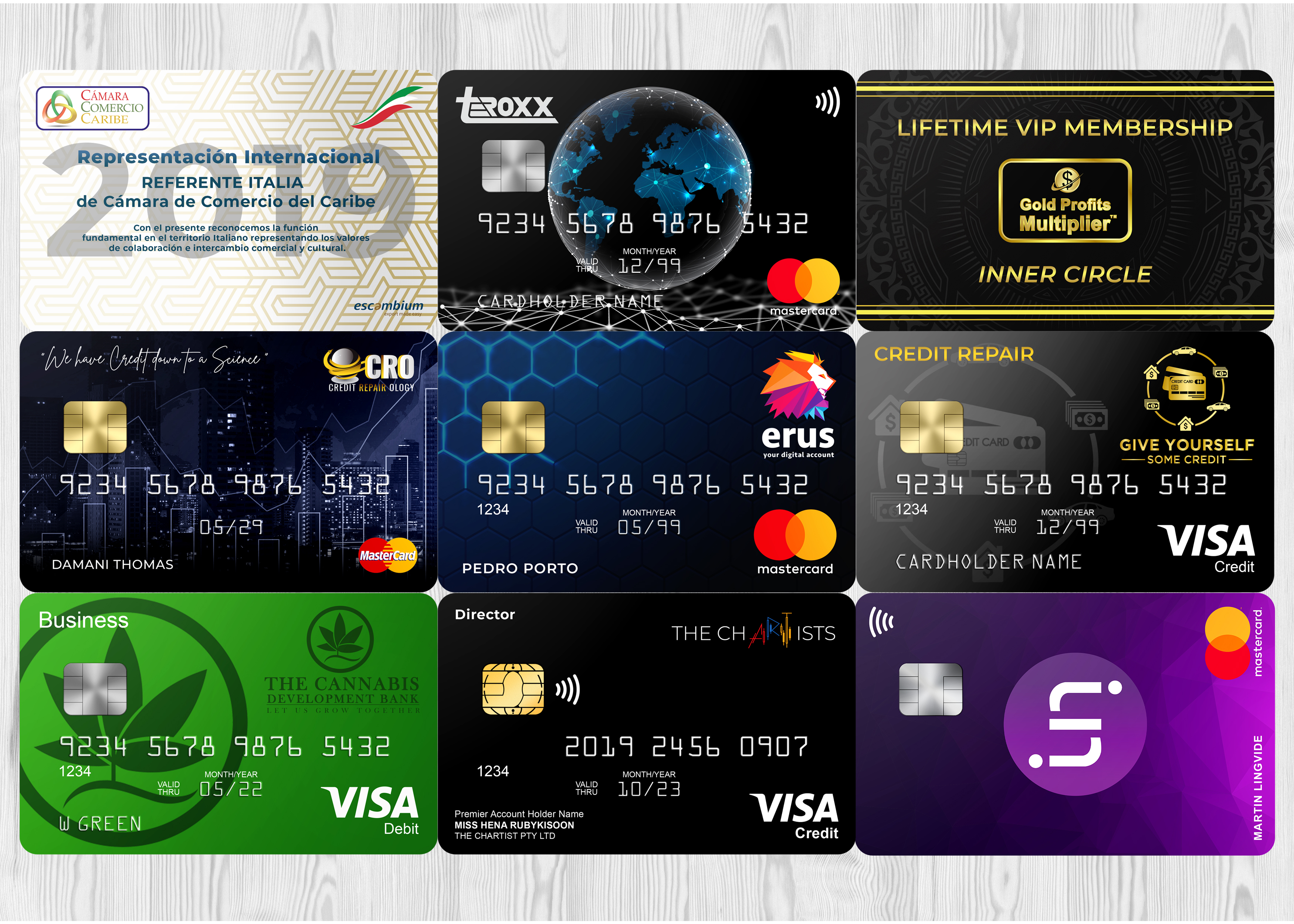 Turn Your Brand Into Professional Credit Card Designs