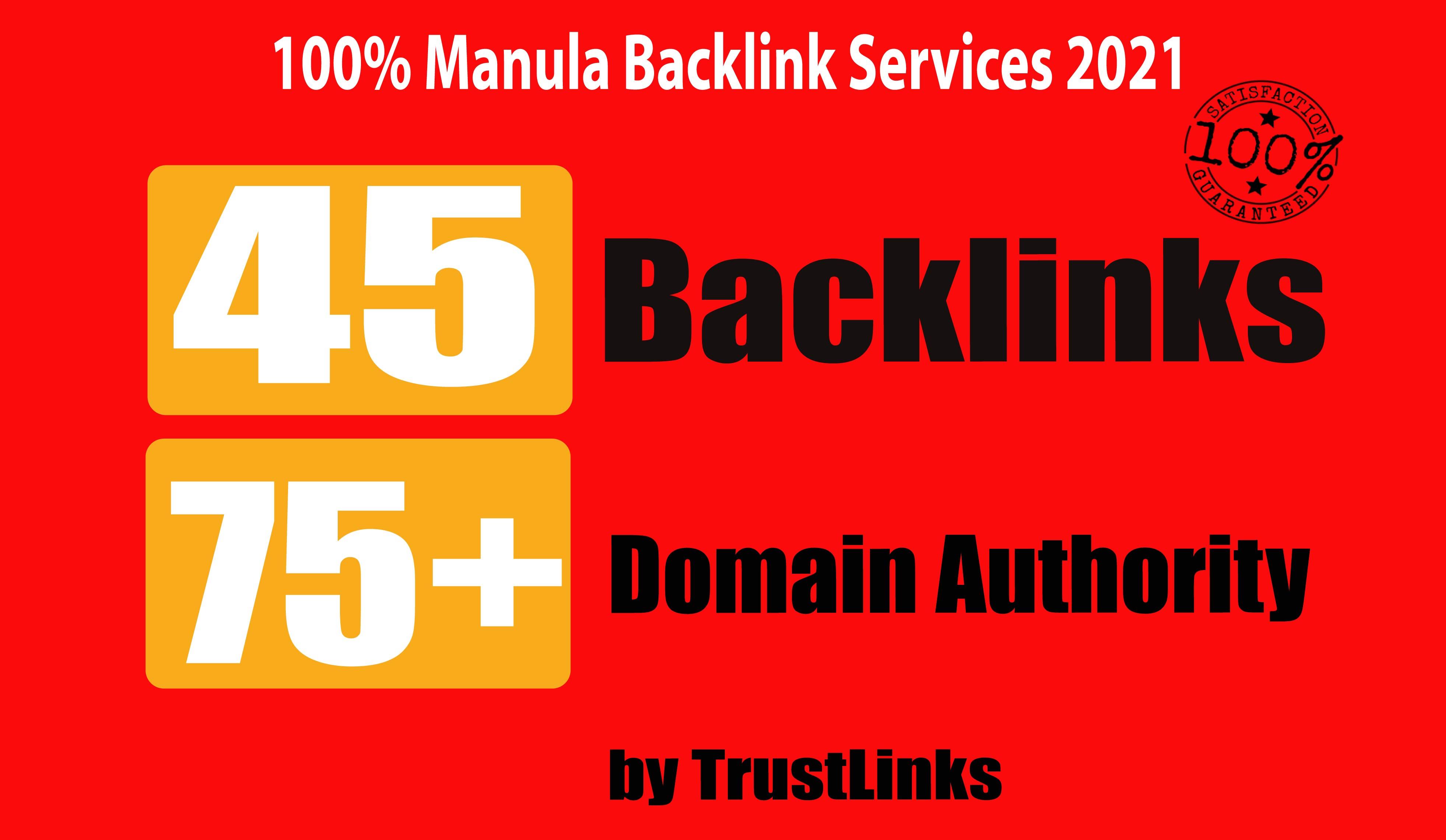45 PR9 Backlinks from High DA-75 Domains-Skyrocket your Google RANKINGS NOW
