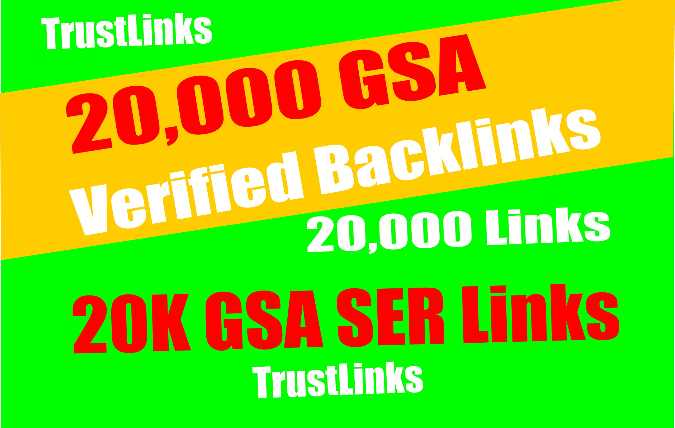 20,000 Verified Gsa Ser Live Backlinks For Seo Rankings