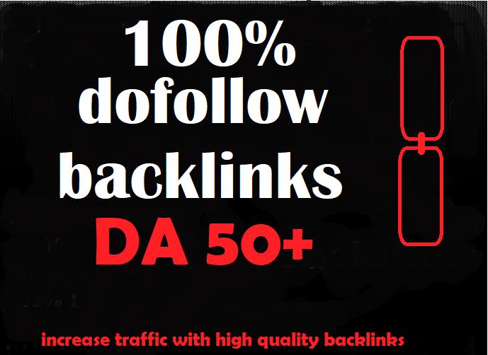 i will do 30 DA50+ only DoFollow Backlinks to skyrocket your Google Rankings