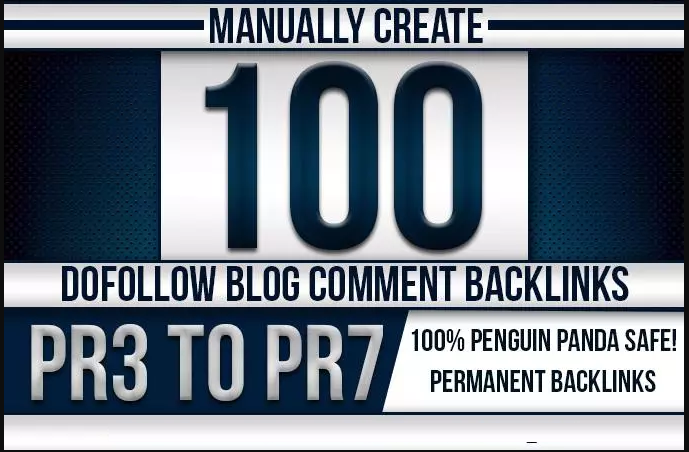 Add 100 HQ Blog Comments Backlinks On Actual Page With High DA-PA-TF 100-60