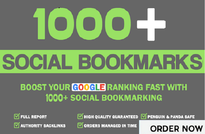 Add 1000+ HQ Social Bookmarks Backlinks For Boost Alexa Rank In Your Website,Keyword and Youtube