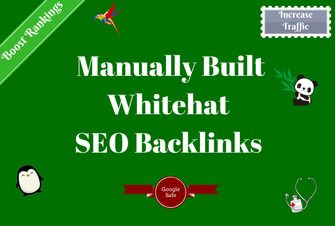 Build 100 High Quality SEO Backlinks Manual Link Building