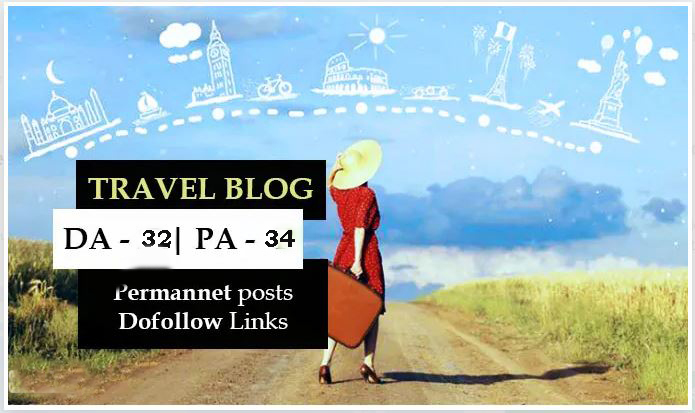 Guest Post On My Da 30+ Real Traffic USA Travel Website