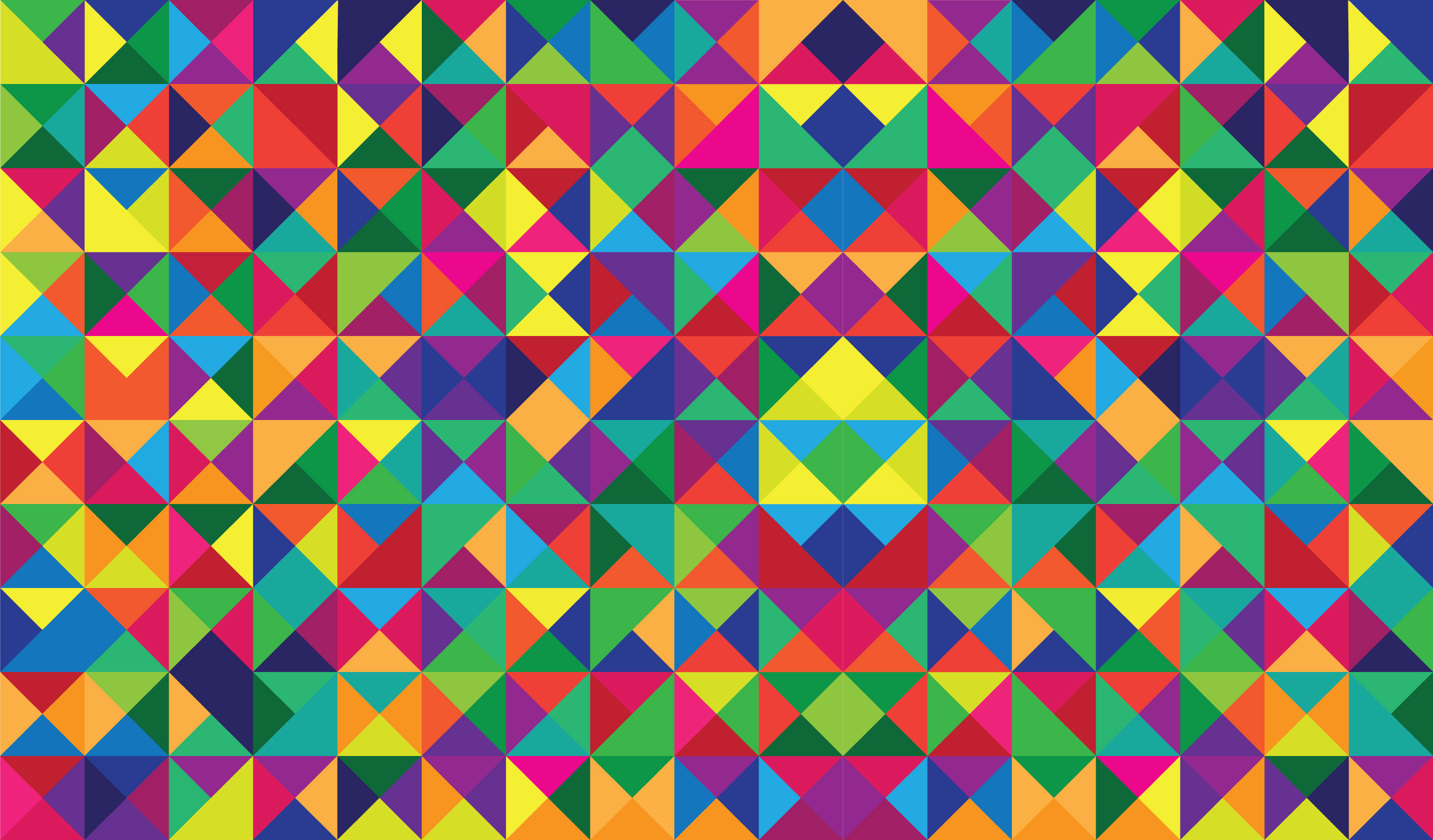 seamless pattern with Different color vector